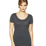Ladies' Tri-Blend Scoop Tee
